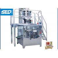 8 Working Stations Automatic Pouch Packing Machine For Dried Fruits / Nuts Manufactures