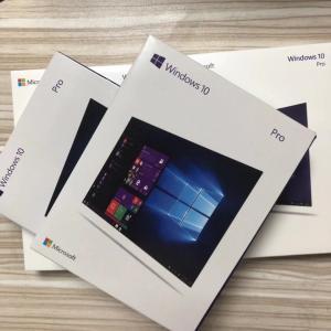 Software Microsoft Windows Pack , Windows 10 Professional Box 32 / 64 Bit License Manufactures