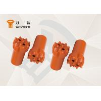 High Flexibility Thread Button Bit , Drilling Rig Drill Bit Fatigue Resistance Manufactures