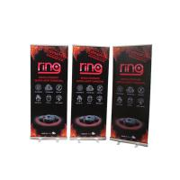 Floor Standing Roll Up Banner Display Vertical Easy Carry Professional Artwork Manufactures