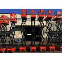 Self Propelled Small Scissor Lift With Extendable Platform Manufactures