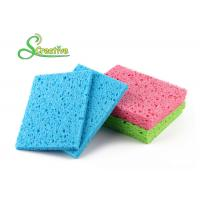 Colorful Multi Function Natural Cellulose Sponge for Bottle and Dish Cleaning Manufactures