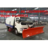 factory sale best price CLW brand road sweeper truck with snow shovel, hot sale road sweeper truck with snow removal Manufactures