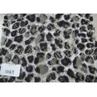 Ladies Garment Nylon Cotton Lace Fabric , Custom Digital Textile Printing Fabric Manufactures
