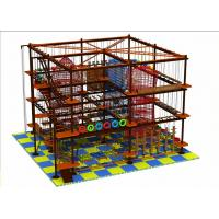 Naughty Castle Climbing Wall Adult/Children Rope Course Outdoor/Indoor Playground Manufactures