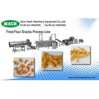Complete Automatic 304 Stainless Steel Fried wheat flour snacks processing line made in China Manufactures