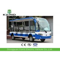 14 Seats Electric Sightseeing Car , Electric Tour Bus With Radio And MP3 Player Manufactures