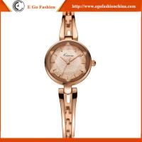 KM22 Luxury Rose Gold Ladies Women Girl Diamond Stainless Steel Quartz Wristwatch Gift Box Manufactures