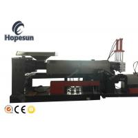 Waste Recycling Plastic Granules Machine /  industrial Plastic Granulator LDPE Film Making Manufactures