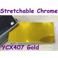Buy cheap Stretchable Chrome Mirror Car Wrapping Vinyl Film - Chrome Gold from wholesalers