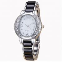 High Quality Women Jewelry Watch with MOP  dial ,OEM stainless steel caseback  ladies wrist watch ,Fashion Wrist watch Manufactures