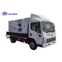400Hz Frequency Aircraft Ground Power Unit , Mobile Diesel Generator Weatherproof Manufactures