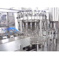 Drinks Electric Liquid Bottle Filling Machine , 6000BPH Washing Filling Capping 3-IN-1 Manufactures