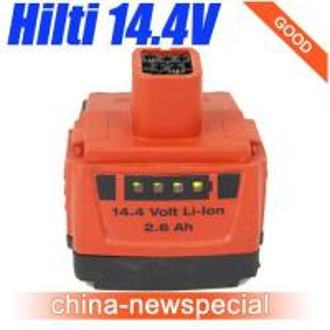 HILTI 14.4V 2.6Ah Lithiu-Ion B144/2.6 LI-ION Battery used Good Price! Manufactures