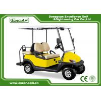 China Yellow 48V Electronic Golf Carts CHAFTA Approved 3.7KW ADC Motor on sale