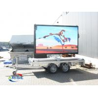 China High Definition Mobile Truck Mounted LED Screen , IP65 P12mm Outdoor LED Display ARISELED on sale