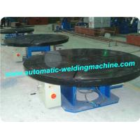 Rotary Welding Positioners , Welding Turntable For Steel Pipe Manufactures