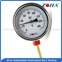 High Accuracy Bimetal Dial Thermometer With Stainless Steel Connector Manufactures