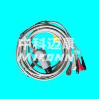 China General 6 pins 5leads Snap One-piece ECG Cable on sale