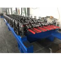Metal Roof Roll Forming Machine , Color Steel Sheet  Roofing Sheet Making Machine Manufactures