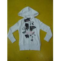 Personalized Fench Terry Ladies Zip Up Hoodies Girls Zip Front Hoodie Casual Wear Manufactures