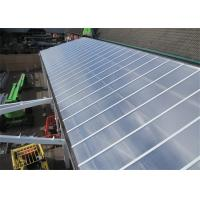 2.1m Max Width Twin Wall Polycarbonate Sheet Transparent With Bendability Manufactures
