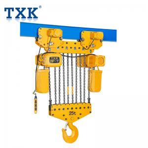 China TXK 15 Ton Chain Hoist With Motor Hoist 380V Power IP55 Protection Level on sale
