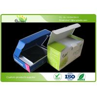 China Die Cutting Cardboard Packaging Boxes , Embossing Cardboard Storage Boxes on sale