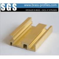 Brass Copper Alloy Extruded Sections C3800 Brass Window Frame Manufactures