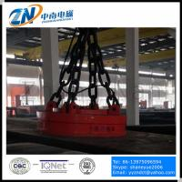 Dia-2000 mm Circular Lifting Electro Magnet for Steel Thick Plate Lifting MW03-200L/1 Manufactures