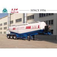 Lightweight Cement Bulker Transporters 12 Wheeler With Air Compressor Manufactures