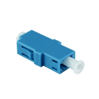 China PVC duplex Single Mode LC LC Fiber Optic Adapters on sale