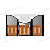 Buy cheap 2 Premade Horse Stall Fronts Solid Plastic Portable Vinyl Horse Stable Stall from wholesalers
