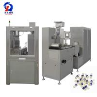 Cooling Air Drying System NJY 100c Pharmaceutical Soft Capsule Liquid Fish Oil Filling Machine Manufactures