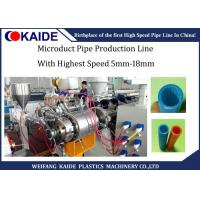China Micro Duct HDPE Pipe Production Line, HDPE Pipe Production Machine, HDPE Silicone Core Tube Machine on sale