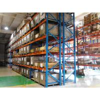Mild Steel Heavy Duty Warehouse Storage Pallet Rack For Building Materials Manufactures