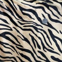 Comfortable Composite Fabric Zebra Upholstery Fabric 0.5mm-5mm Pile Manufactures