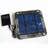 600D PVC Foldable Solar Panel Renewable Energy  / Foldable Solar Charger For IPhone Manufactures