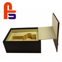 Large Size Foam Lined Cardboard Boxes Recyclable Materials For Packing Wine Manufactures