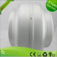 220V Inline Circular Duct Fan For Supermarkets / Stations , Strong Corrosion Resistance Manufactures