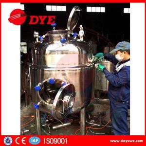 Industrial Stainless Steel Wine Tanks Stainless Steel Pressure Tanks Blending Manufactures