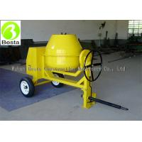 China Portable Mini Concrete Mixer Diesel Motor Manual Tipping with 260 Liters Drum on sale