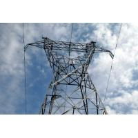 Customized Electricity Transmission Towers Electric Power Towers  45M Manufactures