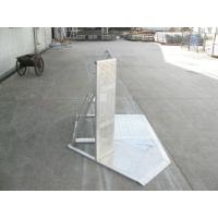 Quality Crowd Control Barriers For Outdoor Stage , Easy Assemble Pedestrian Safety Barriers for sale