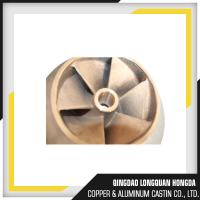 Brass / Copper / Bronze Sand Casting Parts For Pipe Fitting ISO 9001 Certified Manufactures