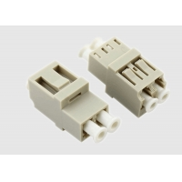 China Duplex Multimode 1550nm OM3 LC Fiber Optic Cable Adapter on sale