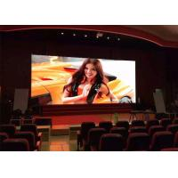 Durable P6 Indoor Led Screen , Retail Led Displa Hoardingy Large Viewing Angle Manufactures