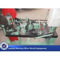 Fully Automatic Barbed Wire Making Machine Easy Operation 1900mm*1300mm*980mm Manufactures