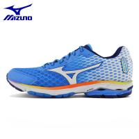 MIZUNO Men WAVE RIDER 18 Mesh Breathable Cushioning Light Weight Running Shoes Sneakers