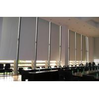 Blackout Custom Electric Blinds Internal Remote Control Architectural Building Shade Manufactures